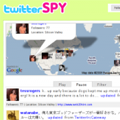 Twitter SPY Screenshot